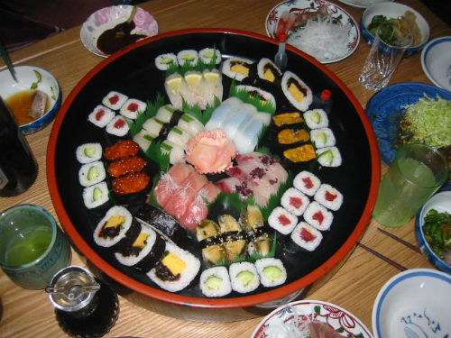 4. Sushi, Japan  Come on, whats not to love about sushi?