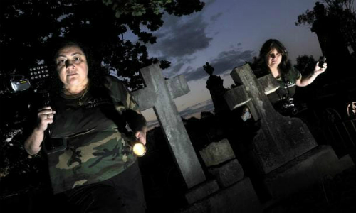 Jeanette Kamper and Jen Van Genderen from Sydney Investigation Ghost Tours have visited Campbelltowns cemetery in the past.